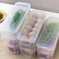 식품 저장 용기 냉장고 플라스틱 보관함 보관 상자 뚜껑이 달린 주방 냉장고 캐비닛 냉동고 데스크 주최자