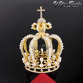 Hight Quanlity Luxury Great quality Baroque styles Vantage Wedding Crown Alloy Bridal Tiara Baroque Queen Crown Free Shipping