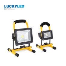 Luckyled потока прожектор работы фары dc автомобильный кемпинг зарядное устройство светодиодный