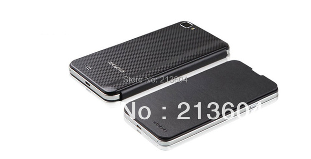 Original  ZOPO zp980  zp980+ C2  leather case protector Case Free Shipping by sg post