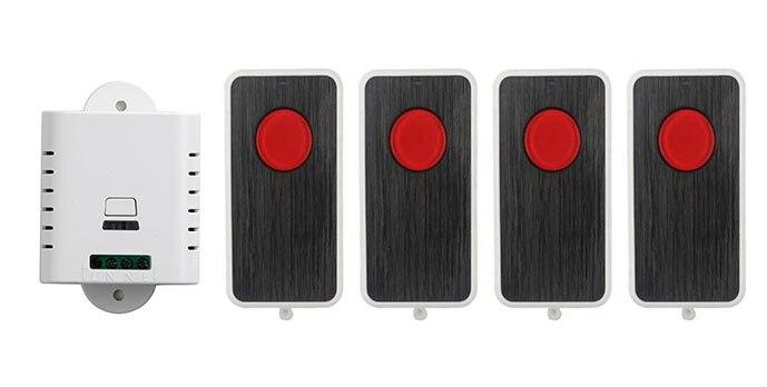 AC85V 110 V 120 V 220 V 250 V RF Sistema de Interruptor de Control Remoto 4X tra