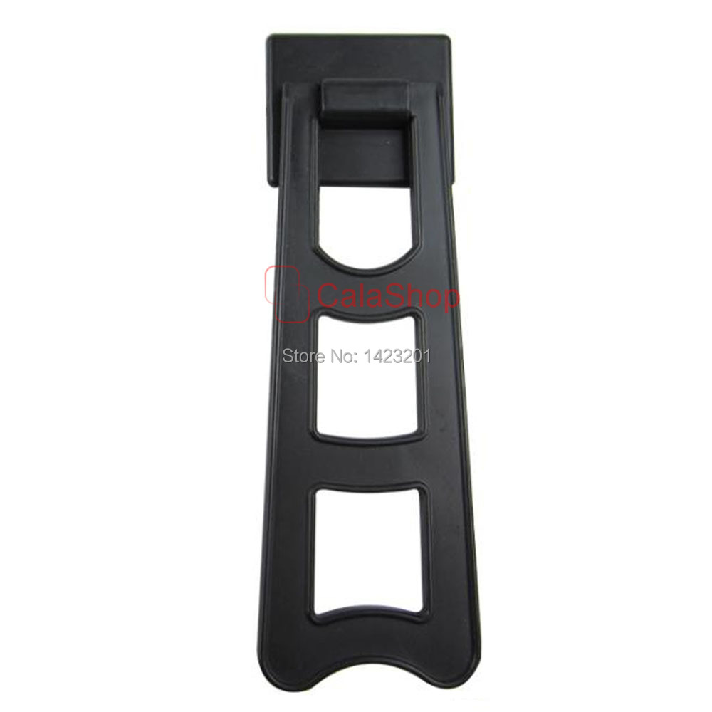 10 pcs lot 134mm plastic black ladder shape picture frame 10 pcs lot 134mm plastic black ladder shape picture frame painting hangers photo supplies accessories advertising holding in frame from home garden on jeuxipadfo Images