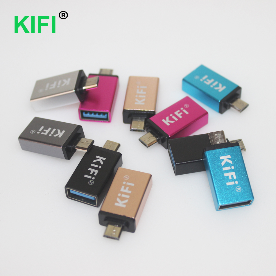 Micro USB To USB OTG Adapter Male To USB Micro Adapter Converter For Samsung Xiaomi LG Huawei Android Mobile Phones