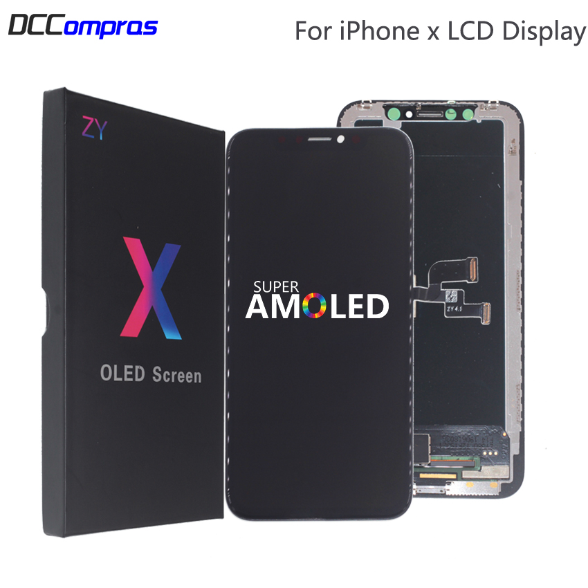 High Quality LCD For iPhone X XS XR Flexible Rigid Hard OLED For iPhone X XS