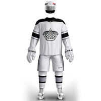 JETS free shipping Los Angeles Training suit With Printing kings Logo ice hockey jerseys in stock customized E063