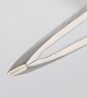Tweezer eyebrow artifact clip clip plucking eyebrows beard clip pliers stainless steel tweezers diagonal Beauty tools