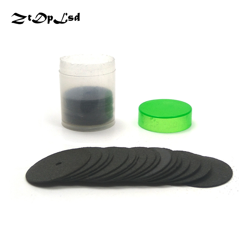 ZtDpLsd 36Pcs 24MM Black Abrasive Disc Cutting Discs Reinforced Cut Off Grinding Wheels Rotary Blade Disc Dremel Tool