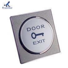 Для систем входа в дверь Золотая кнопка выхода двери открывающийся переключатель для контроля доступа дешевый одиночный доступ к двери