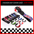 key hard cover case for MINI Cooper 2014 F56 2015 F55 2016 F54 keyfob Hardtop replacement key cap keychain keyholder accessories