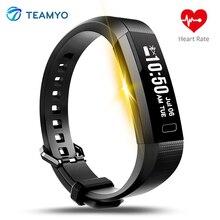 Teamyo Y11 Smart Band сердечного ритма Смарт часы трекер сна Мониторы умный Браслет Фитнес трекер Pulseira inteligente