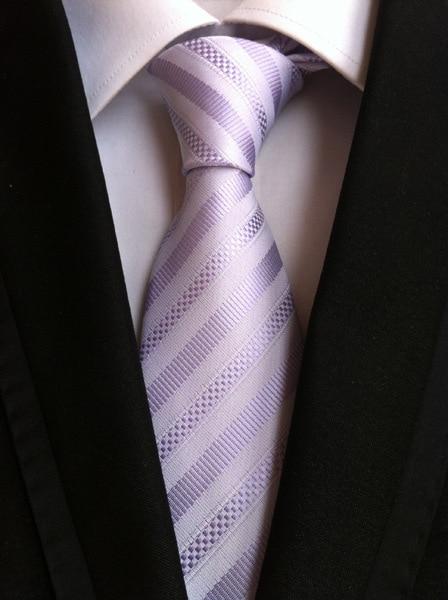 uusi muoti solmio miesten solmiot miehille vestido silkkiraita solmio - Vaatetustarvikkeet - Valokuva 5