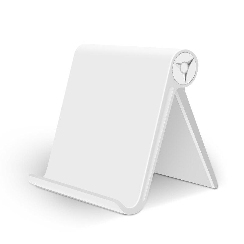 Wysokiej jakości tablet uchwyt stojak na ipad Kindle składany z regulowanym kątem biurko stojak na telefon do montażu na iPhone Samsung S9
