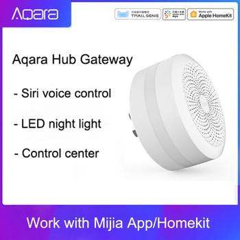 Original Mijia Aqara Hub Gateway with Led night light Smart work with For Apple Homekit International Edition Gateway japan gateway шампунь