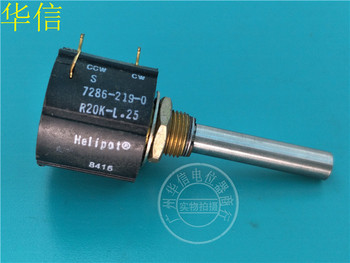 Original new 100% import 7286-219-0 R20K-L.25 20K multi coil around the potentiometer axis length 38MM (SWITCH)