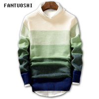 Men's sweater 2019 New Spring Autumn Fashion Casual Sweater O Neck Slim Fit Knitting Men Pullover Long sleeve Sweater coat