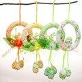 2016 Новый Многоцветный Декоративные Венки Пасхальный Кролик Пена Пасхальное Яйцо Бесплатная Доставка
