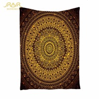 ROMORUS Indian Mandala Tapestry Quality Bohemia Wall Hanging Hippie Tapestry 148*200CM Hobo Carpet Beach Towels Yoga Bedspread