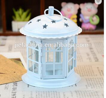Candle Lamp Stand Metal Gifts & Decor Molded Iron Lantern Candle Holder