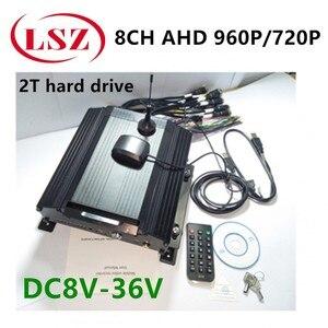 Удаленный позиционирование видеонаблюдения видео рекордер 8-канальный жесткий диск mdvr 3G GPS Автобус/школьный автобус Мобильный DVR