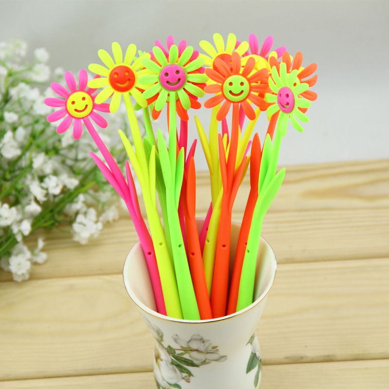 Image result for Souvenir pulpen bunga matahari