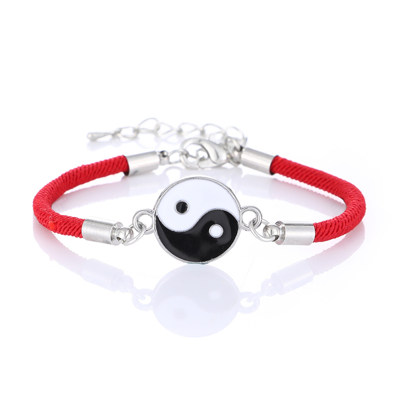 Bracelet Red-Rope Yin Yang Jewelry Lucky Fashion Taiji-Symbol Lady