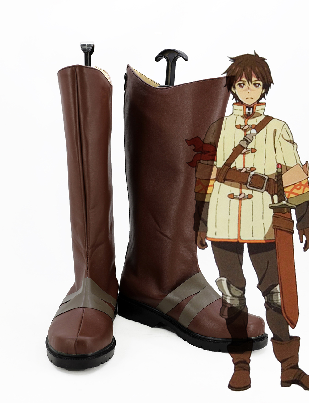 Chain Chronicle Yuri Cosplay Boots Shoes Custom Made-in ...
