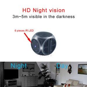 Image 2 - Ultra Mini Kamera Manyetik Vücut Kamera 1080P HD Video Ses Kaydedici Gece Görüş Hareket Gizli Kamera Desteği Gizli TF kart