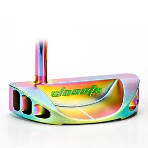 Image 3 - Clubes de golfe putter men destro cor putter eixo de aço livre shipiping