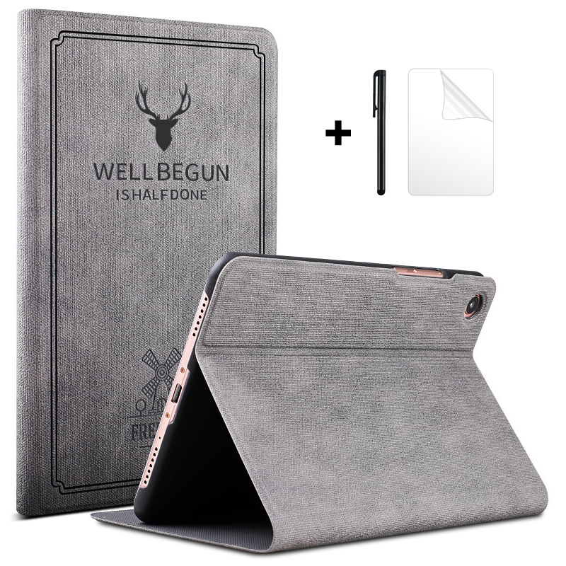 Case for Xiaomi Mi Pad <font><b>4</b></font> Plus Case Slim Retro Flip Stand PU Leather Smart Cover for Xiaomi MiPad <font><b>4</b></font> Plus Case <font><b>10.1</b></font>