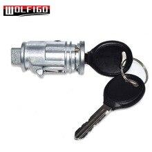 WOLFIGO Novo 5003843AB Cilindro de Bloqueio Interruptor de Ignição Chave Para Chrysler Jeep Liberty 300 703719