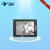 Q150TC BUV/15 1024x768 VGA HD Embedded Open Frame Metal Case Touch Monitor/15 inch Aviation Power Industrial Touch LCD Monitor