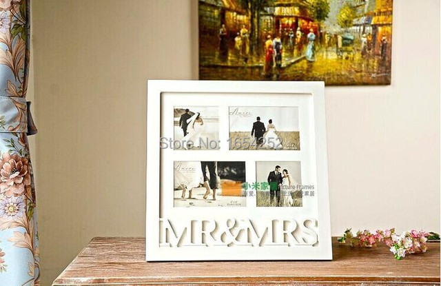 Welcome Monogram Wedding Decorative Wooden Photo Frame Picture Frame