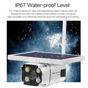 Image 5 - DHL bezpłatna bezprzewodowa karta GSM 4G SIM zasilana energią słoneczną kamera IP wbudowana bateria HD 1080P wodoodporna bezpieczeństwo zewnętrzne kamera telewizji przemysłowej YN88