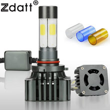 Zdatt COB HB4 9006 Led Bulb 12V Car Headlight Bulb 12000Lm 100W Auto Headlamp 3000K 6000K 8000K Auto Light Lamp Conversion Kit(China)