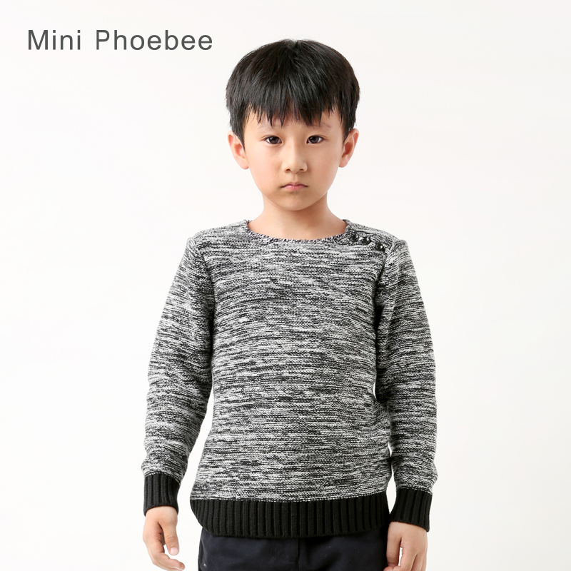 ФОТО Boys pullover sweater 2 T 3 4 5 6 7 8years knitted kids pullover sweaters kids baby boy wool sweaters children winter clothes