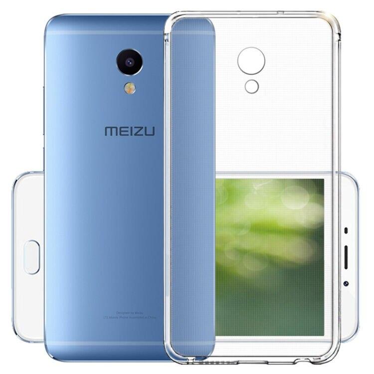 Holazing оптовая продажа прозрачный гель ТПУ Резиновая Мягкий силиконовый чехол для Meizu M3E ультра тонкий защитный кожного покрова
