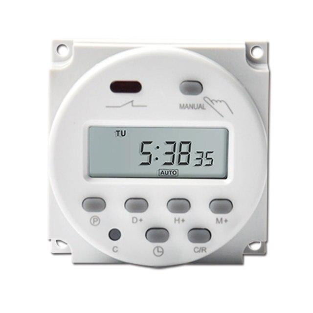 l701 cn101a 16a digital time switch 12v 24v 110v 220v ac dc weekly rh aliexpress com Mark Time Timer Switch Fan Timer Switch