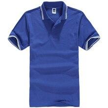New brand summer men 's casual T – shirt cotton short – sleeved shirt ultra – thin breathable British solid lapel shirt