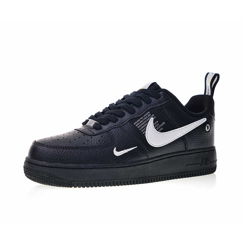 Original Authentic Nike Air Force 1 07 LV8 Utility Men's Skateboarding Shoes Sport Outdoor Sneakers Lightweight Designer AJ7747