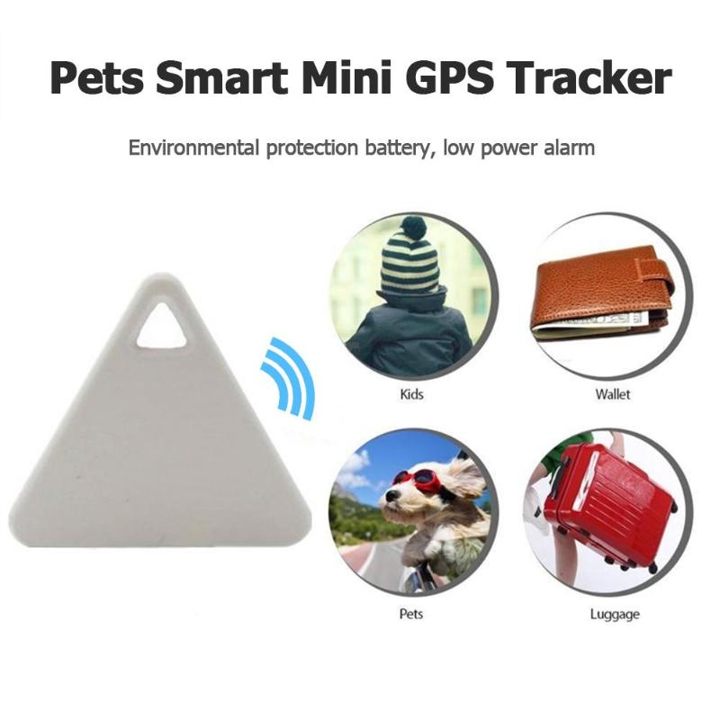 Mascotas Mini rastreador GPS inteligente Anti-Pérdida Bluetooth rastreadores triangulares para perro mascota perro alarma GPS para niños Soporte de teléfono para motocicleta 15W cargador inteligente inalámbrico QC3.0 carga de alambre 2 en 1 soporte semiautomático soporte de rotación de 360 grados