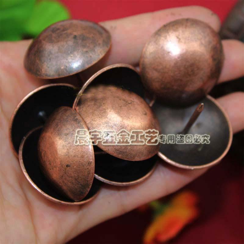 decorative nails for furniture. 30*25mm 20pcs Big Size Wooden Box Gate Decorative Nails Red Bronze Antique Sofa Upholstery Furniture Drum Trunk Nail Tacks-in Tacks From Home Improvement On For E