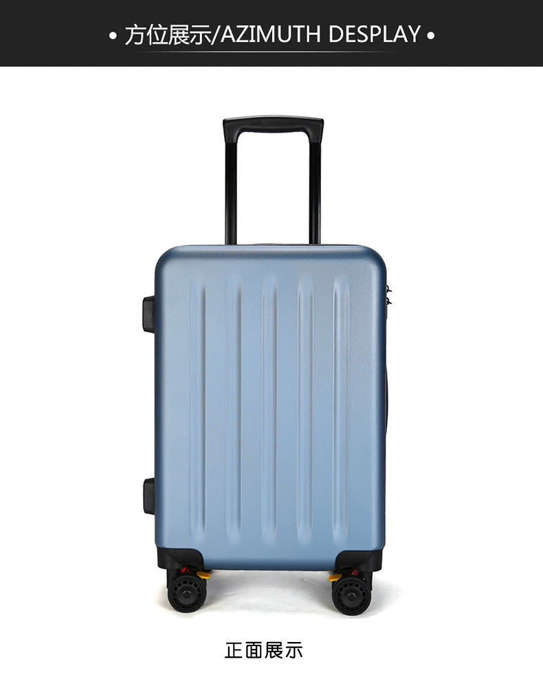 ZYJ Travel Trolley Luggage Men Women Alloy Business Solid Rolling Scratchproof Airplane Suitcase Luggage Spinner Wheels Trunk (13)