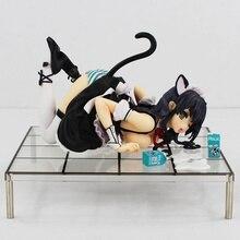 Haute Qualité Misaki Kurehito CAT LAP LAIT Sexy PVC Action Figure Modèle Jouets Poupée avec la Boîte 15 cm Livraison Gratuite