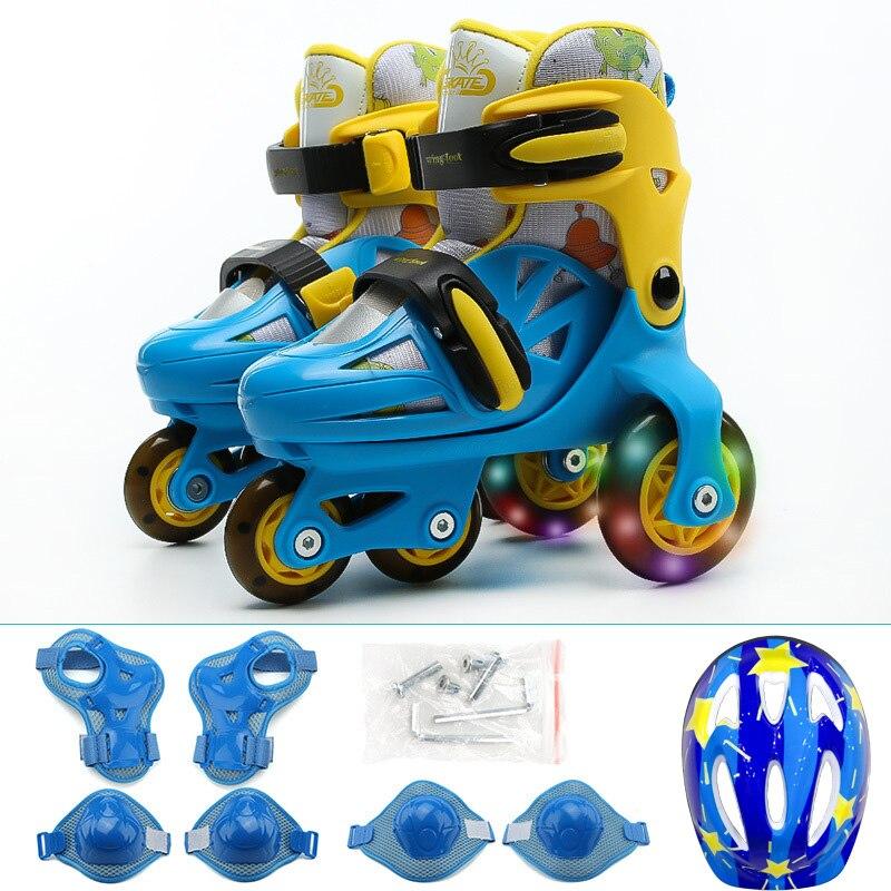 Kinderen/Volwassen Pro Rolschaatsen schoenen grote wielen veiligheid schaatsen schoenen Skate Roller Schoenen Ademend en Wearable kwaliteit - 4