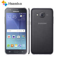 "100%original Samsung Galaxy J7 unlocked Duos GSM 4G LTE Android Mobile Phone Octa Core Dual Sim 5.5"" 13MP 1.5GB+16GB refurbished"