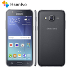 "original Samsung Galaxy J7 unlocked Duos GSM 4G LTE Android Mobile Phone Octa Core Dual Sim 5.5"" 13MP 1.5GB+16GB refurbished"