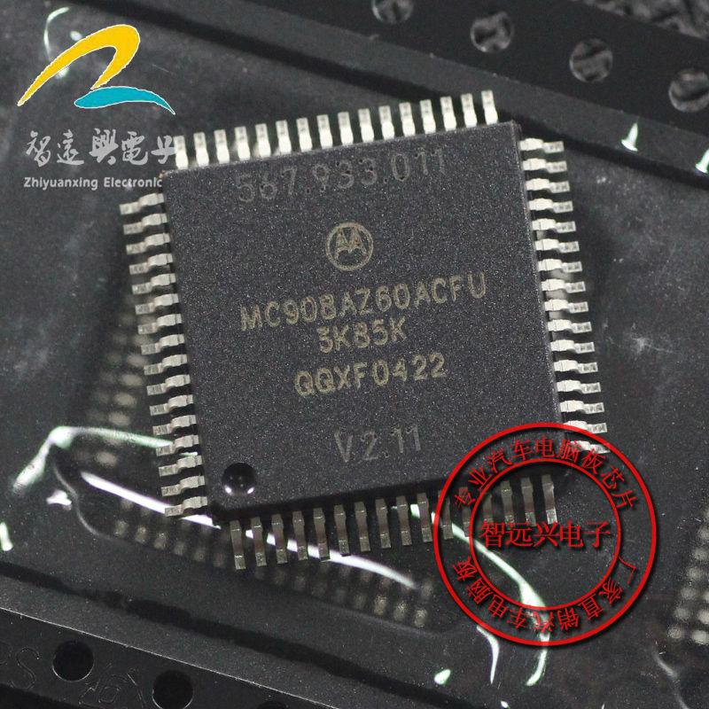 Free Shipping MC908AZ60ACFU 3K85K 8-bit Microcontrollers - MCU 64KFLASH W/2K EEPROM QFP-64