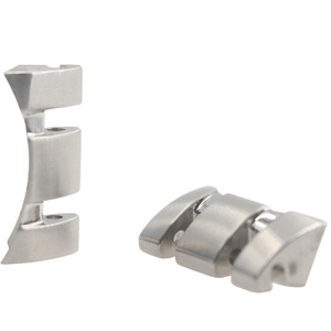 Image 5 - 22/23/24mm T035407A T035617A חדש שעון חלקי זכר מוצק נירוסטה צמיד רצועת Watchbands עבור T035614A /T035627