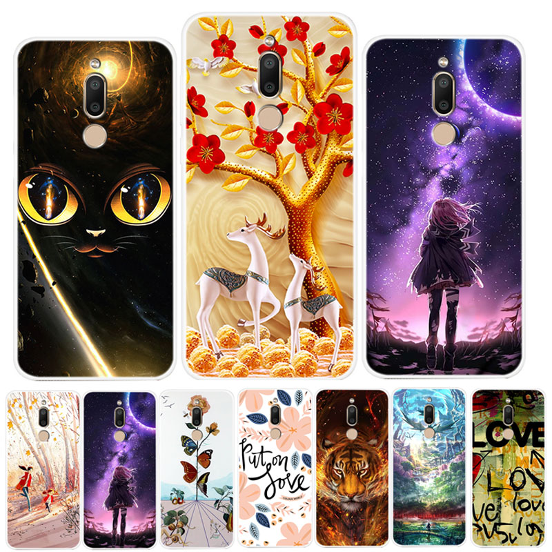 For <font><b>Meizu</b></font> <font><b>M6T</b></font> Case Fashion Painted Silicon Soft TPU Phone Case For <font><b>Meizu</b></font> M6 M711H Case Cover For <font><b>Meizu</b></font> <font><b>M6T</b></font> <font><b>M811H</b></font> M6 T M 6T Coque image