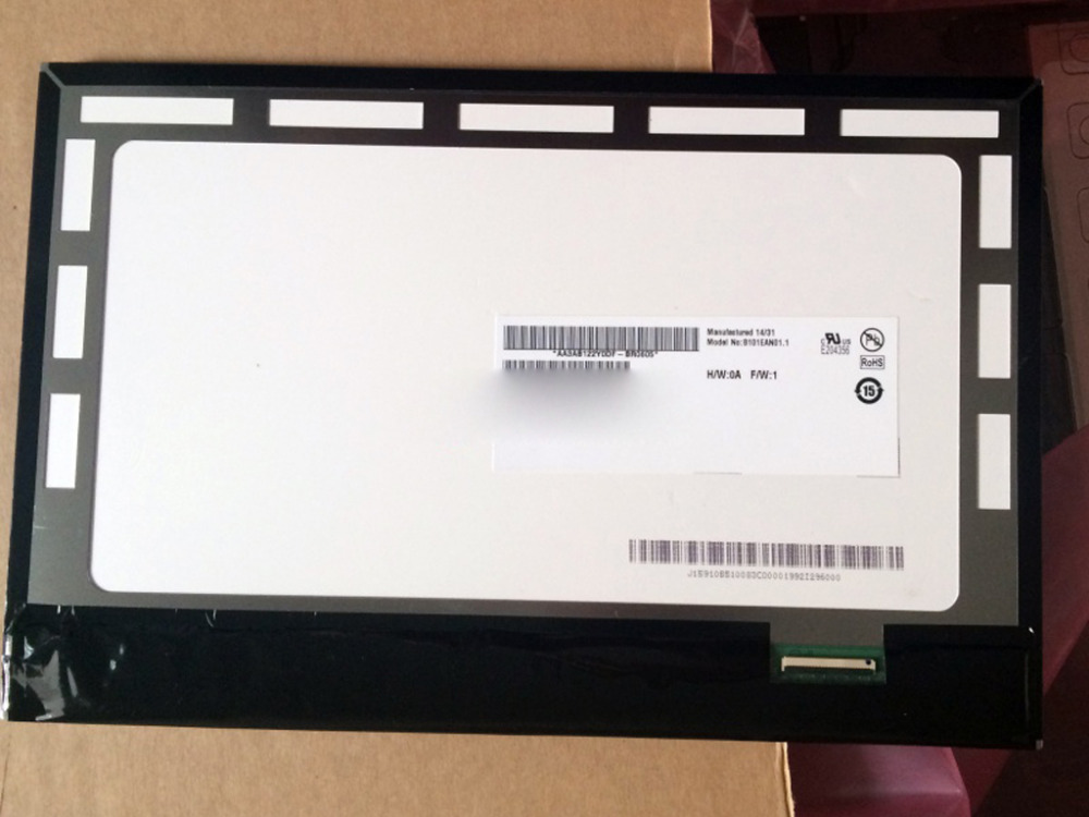 Quying  Original LCD 10.1 inch lcd display 5234N Touch Screen For Asus Eee Pad Vivo Tab RT TF600 TF600T HV101HD1-1E0
